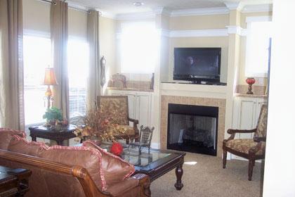TV Niche Fireplace